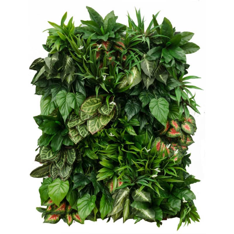 Jungle grove artificial plant panel