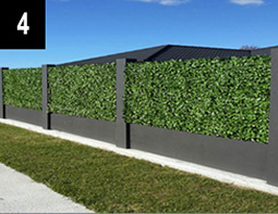 No maintenance - plastic Hedge Panels