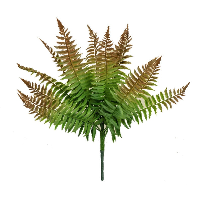 Artificial Rust Fern