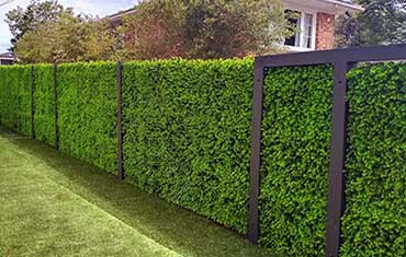 Artificial foliage and hedge panels